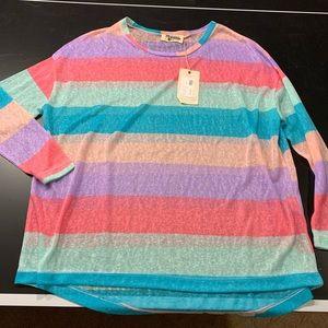 Sam Sweater Tart Stripe
